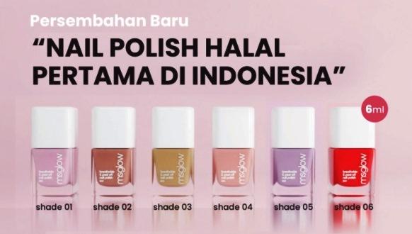 Nail Polish HALAL Pertama di Indonesia